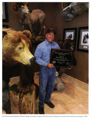Tom Miranda - National Trappers Association - Trappers Hall of Fame Award 2020