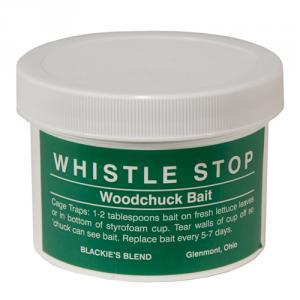 Blackie - Whistle Stop Woodchuck Bait (8 oz)
