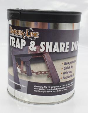 Dakotaline Snare & Trap Dip - Brown  (quart)