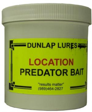 Dunlap - Location Predator Bait - Pint