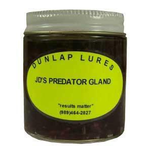Dunlap - JD's Predator Gland Lure