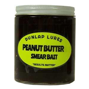 Dunlap - Smear Bait - Peanut Butter - 6 oz