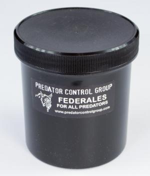 Predator Control Group - Federales - Coyote, Fox & Bobcat Bait - 16 oz