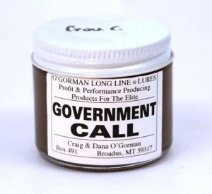 O'Gorman Lure - Government Call  (2 Oz )