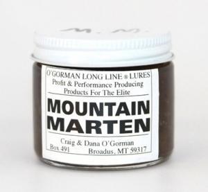 O'Gorman Lure - Mountain Marten  (2 Oz )