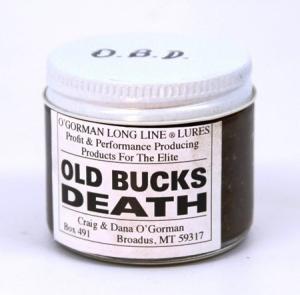 O'Gorman Lure - Old Bucks Death  (2 Oz )