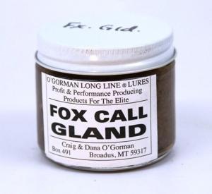 O'Gorman Lure - Fox Call Gland  (2 Oz )