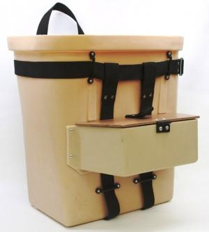 Fiber Tuff Packbasket 18 Inch with Pouch