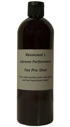 Reuwsaat Lure - Pro Shot Red Fox - Pint