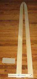 Stretcher - Wood Adjustable - Coyote / Bobcat