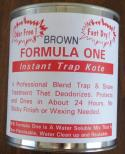 Formula One Trap Dip - Brown  (quart)