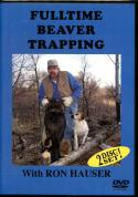 Hauser - Fulltime Beaver Trapping - by Ron Hauser (dvd)